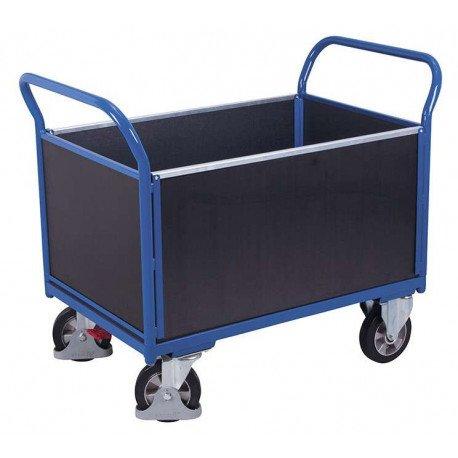 Chariot à 4 panneaux avec contre-plaqué étanche