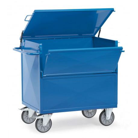 image cover Chariot caisse en tôle avec toit