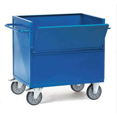 image cover Chariot caisse en tôle sans toit
