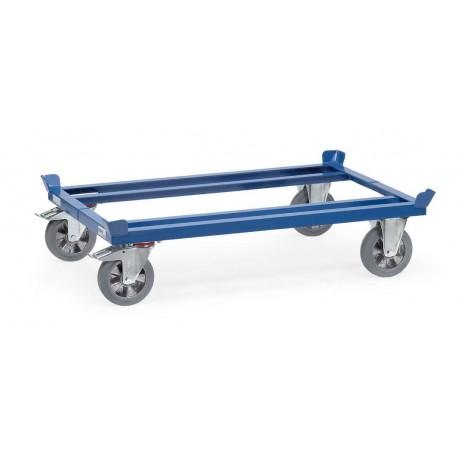 Rouleur de palettes - roues caoutchouc élastique