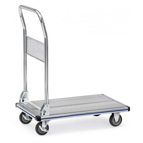 image cover Chariot à dossier rabattable aluminium