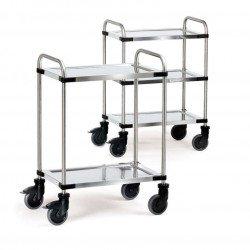 chariots métallisés