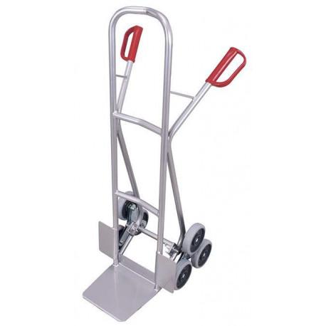 image cover Diable escalier aluminium à 3 roues en étoile