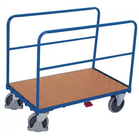 Chariot avec 2 supports tubulaires