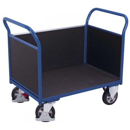 Chariot à 3 panneaux avec contre-plaqué étanche