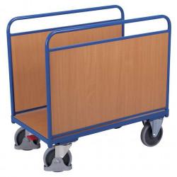 Chariot à arceaux avec 2 panneaux bois