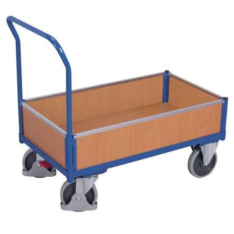 image cover Chariot à 4 côtés avec plateau mélaminé