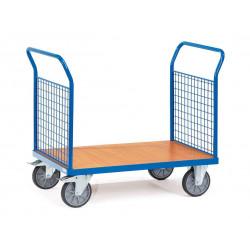 Chariot à ridelles ou à côtés