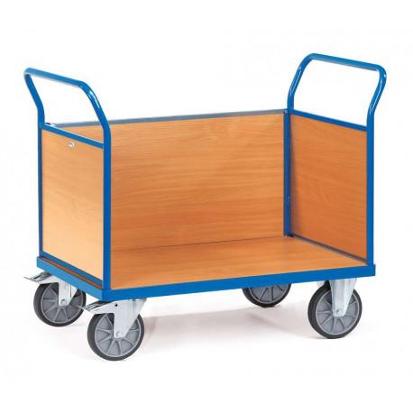 image cover Chariot à 3 côtés en mélaminé