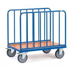 Chariot à 2 ridelles latérales
