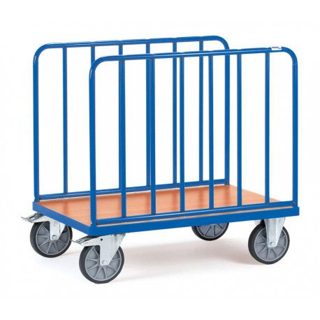 image cover Chariot à 2 ridelles latérales