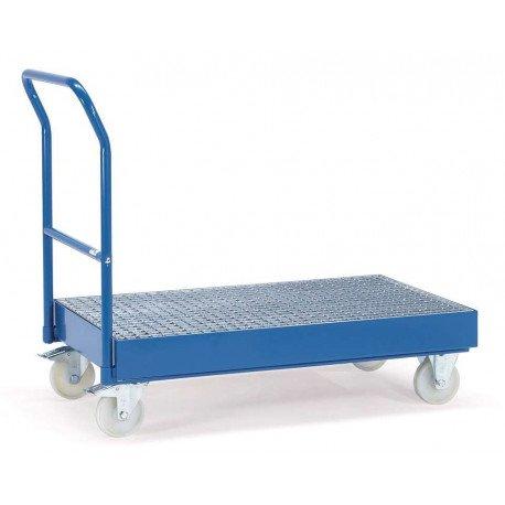 Chariot de rétention avec dossier de poussée