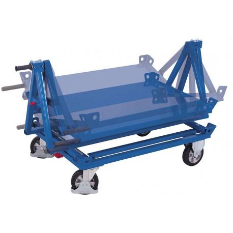 Support basculant pour chariot porte-palettes