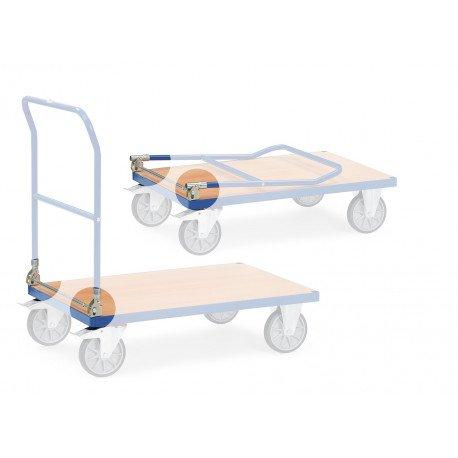 Mécanisme de pliage pour chariots
