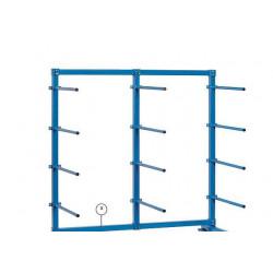 Barre de portée horizontale pour chariots
