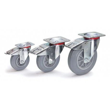 image cover Roue pivotante frein
