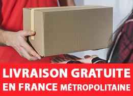 Profitez de la livraison offerte en france métropolitaine
